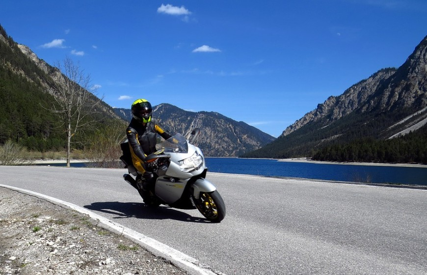 Road Mountains Motorcycle Alpine Bike Motorcycling